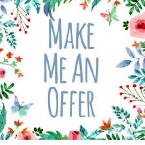 WE ACCEPT or counter ALL OFFERS! ❤️❤️